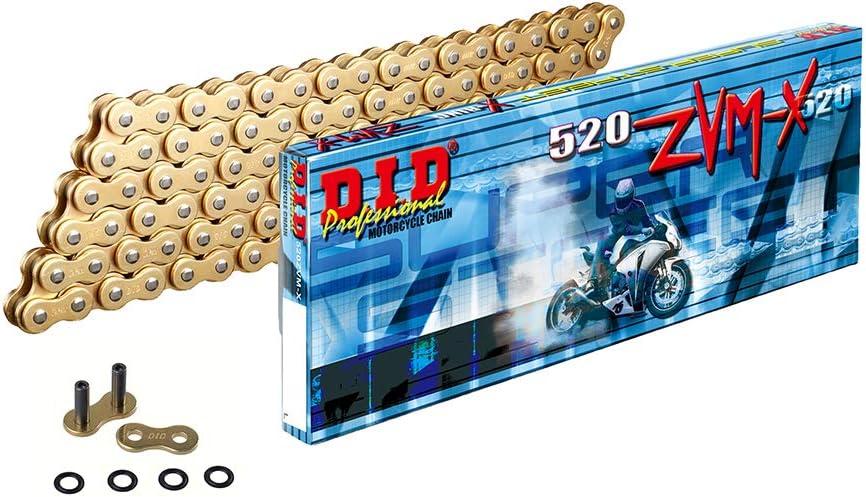 Kettenschloss Motorrad Kettenkit Kettensatz DID 520NZ f/ür EL 252 F Eliminator EL250B 1997-2003 inlusive Kettenrad Ritzel Kette
