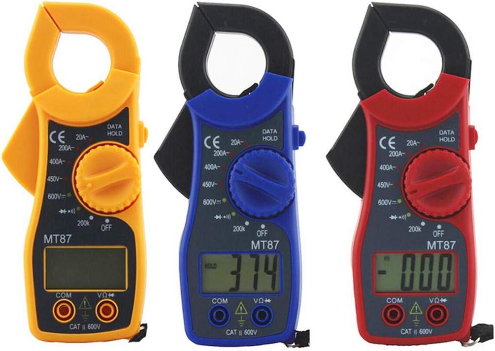Maximalwertspeicherung und Stromz/ählerdaten NoyoKere MT-87 Zangen-Multimeter zur Speicherung von Spannungs Hintergrundbeleuchtung und Funktionsumschaltung