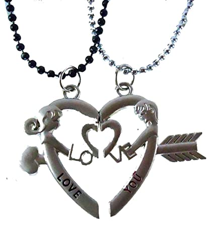 magnetic p love off lockets with girl valentine two on boy chain
