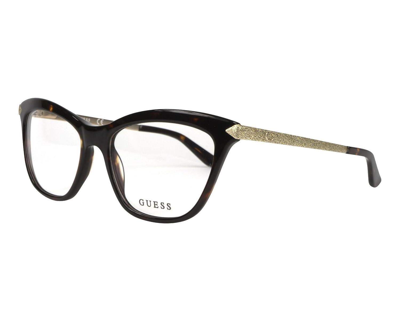 598f8351c130d Eyeglasses Guess GU 2655 052 dark havana at Amazon Men s Clothing store