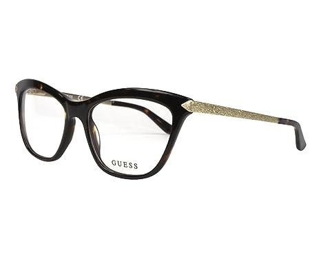 2f1c72693b Eyeglasses Guess GU 2655 052 dark havana at Amazon Men s Clothing store