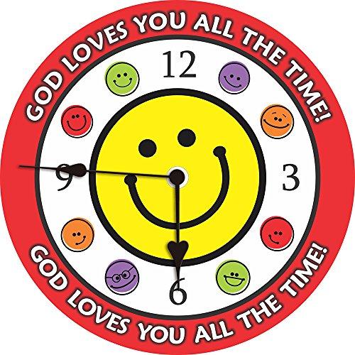 God Wall Clock - MODE HOME 8