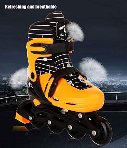 Erwachsene Kinder Springsport-Laufschuhe YAOZEDI-RollerSkates Springschuhe EIN Paar Schuhe Mehrzweck-Rollschuhe