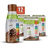 Vega Protein Shakes Ready to Drink, Chocolate - Plant Based Vegan Nutrition Shake with Veggies, Greens, Vitamins…