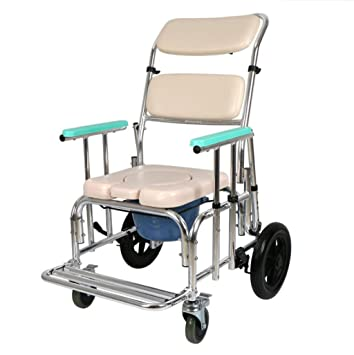 KY Sillas de ruedas eléctricas Silla de baño multifuncional ...