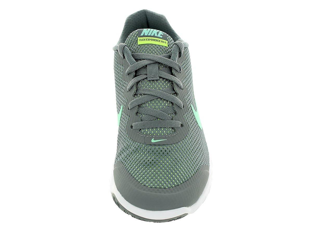 Nike Men s Flex Experience RN Cl Gry Grn Glw Anthrct Ghst Gr Running Shoe, 8.5 B M US