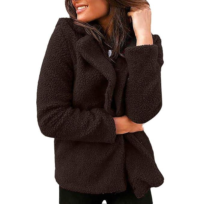 Linlink promoción de liquidación Las Mujeres sólido Damas Traje Blazer Chaqueta Abrigo Outwear Abrigo Corto Caliente Tops: Amazon.es: Ropa y accesorios