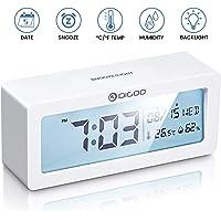 DIGOO Reloj Despertador Digital, LCD Reloj Alarma