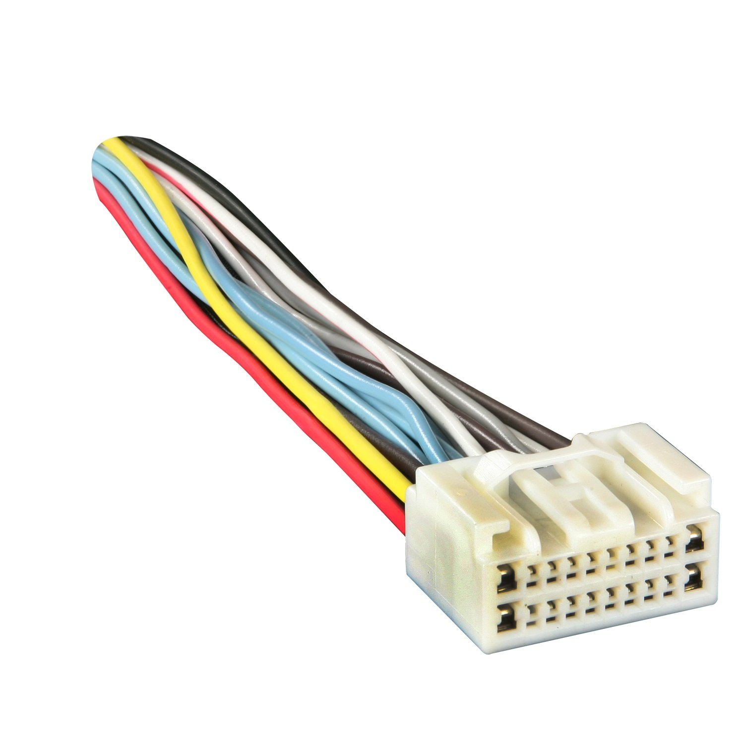 61k6eVpKLJL._SL1500_ amazon com metra 71 8113 reverse wiring harness for select 2000 where to buy a trailer wiring harness at bayanpartner.co