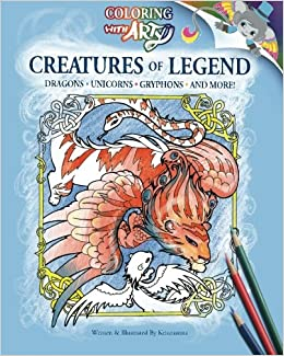 Book Creatures Of Legend: Coloring With Arty