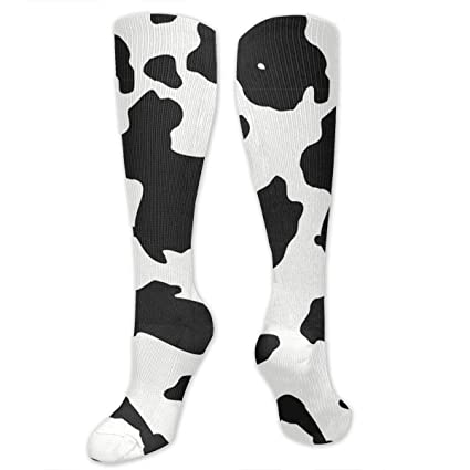7f2e7eccd72 Image Unavailable. Image not available for. Color  Redygs Dairy Cow Spot  Stockings Long ...