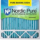 Nordic Pure 20x20x5 (4-3/8 Actual Depth) Pure Baking Soda Honeywell/Lennox Replacement AC Furnace Air Filter, Box of 1