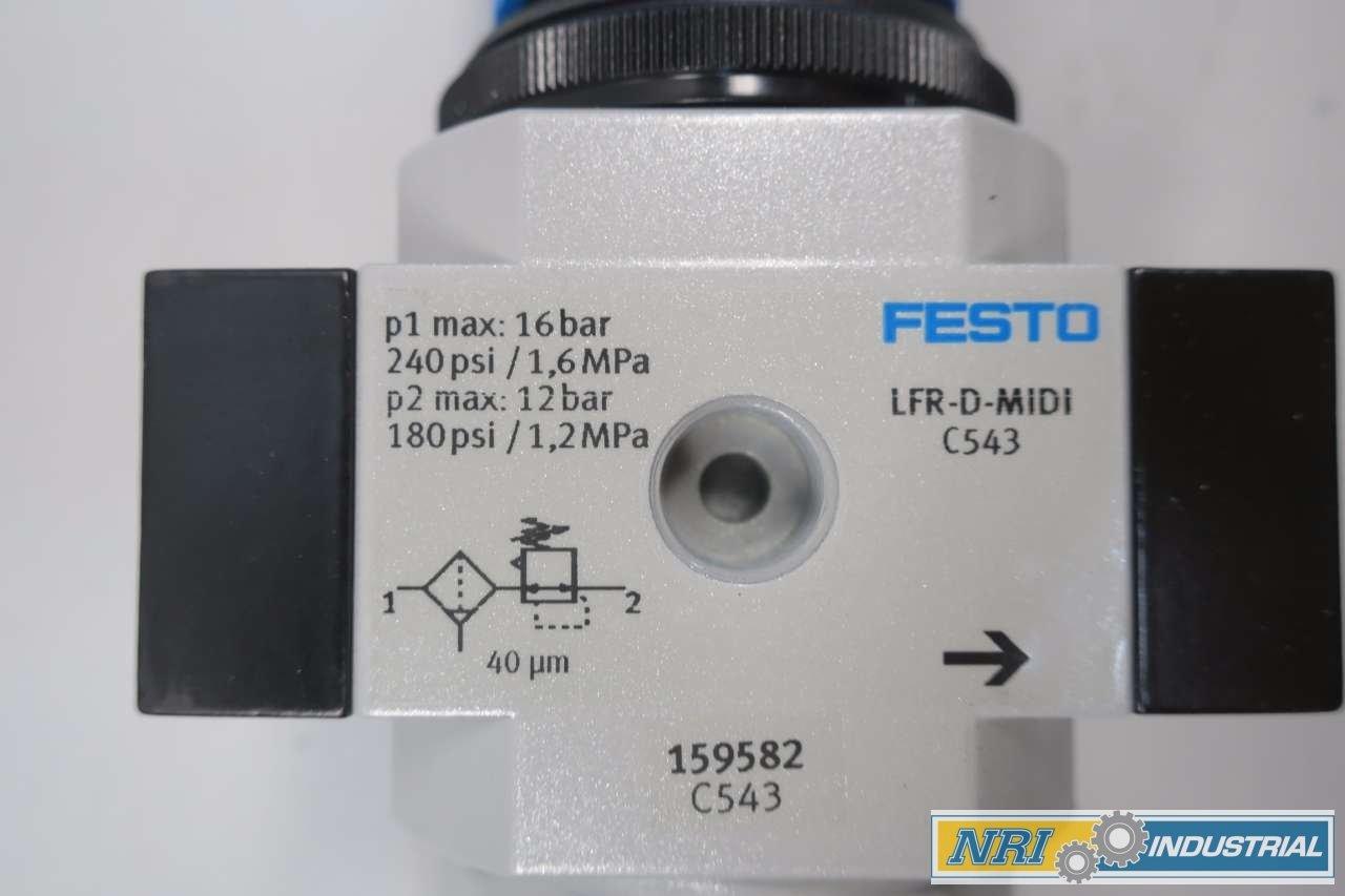 Festo 159582/lfr-3//8-d-midi Filter Regulator Einheit