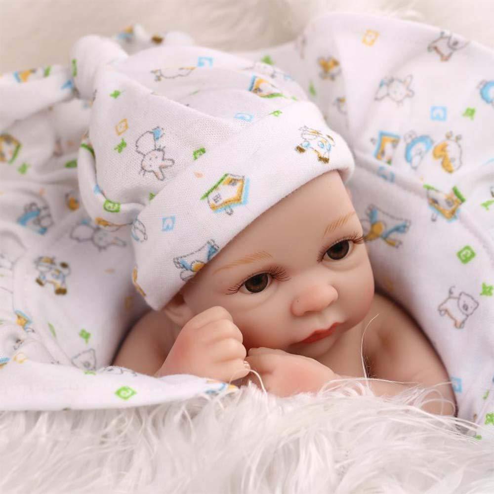 JUNMAO 031-boy 11インチ ミニ 目 本物そっくり リボーンドール 双子 女の子 ミニ 男の子 リアルなソフトシリコンビニール フルボディ 目 オープン新生児 ベビードール衣装 幼児 キッズギフト 対象年齢3歳以上 27CM/11'' 2019 27CM/11'' 031-boy B07QK15LP1, ADワタナベ:b886b3ca --- itxassou.fr