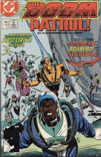 DOOM PATROL #17, VF/NM, Kupperberg, 1987 1988, Aquaman, Devils, more DC in store