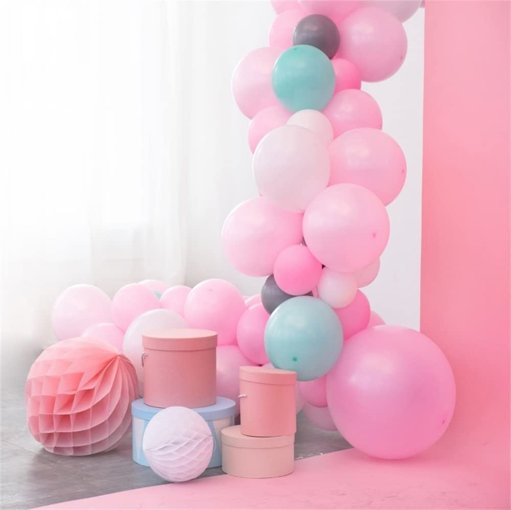 Amazon Com Lfeey 5x5ft Photo Background Sweet Girls Room Decor Wallpaper Baby Shower Photo Booth Paper Flowers Colorful Balloons Kids Birthday Party Photography Backdrop Photo Studio Props Camera Photo