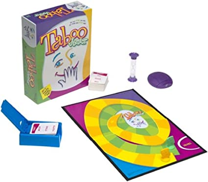 Taboo Junior (2001 Edition) by Hasbro: Amazon.es: Juguetes y juegos