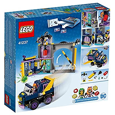 LEGO DC Super Hero Girls Batgirl Secret Bunker 41237 Building Kit (351 Piece): Toys & Games