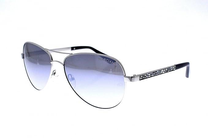 04d20319c3763 Guess By Marciano GM0754 Sunglasses 60 06C Shiny Dark Nickeltin ...