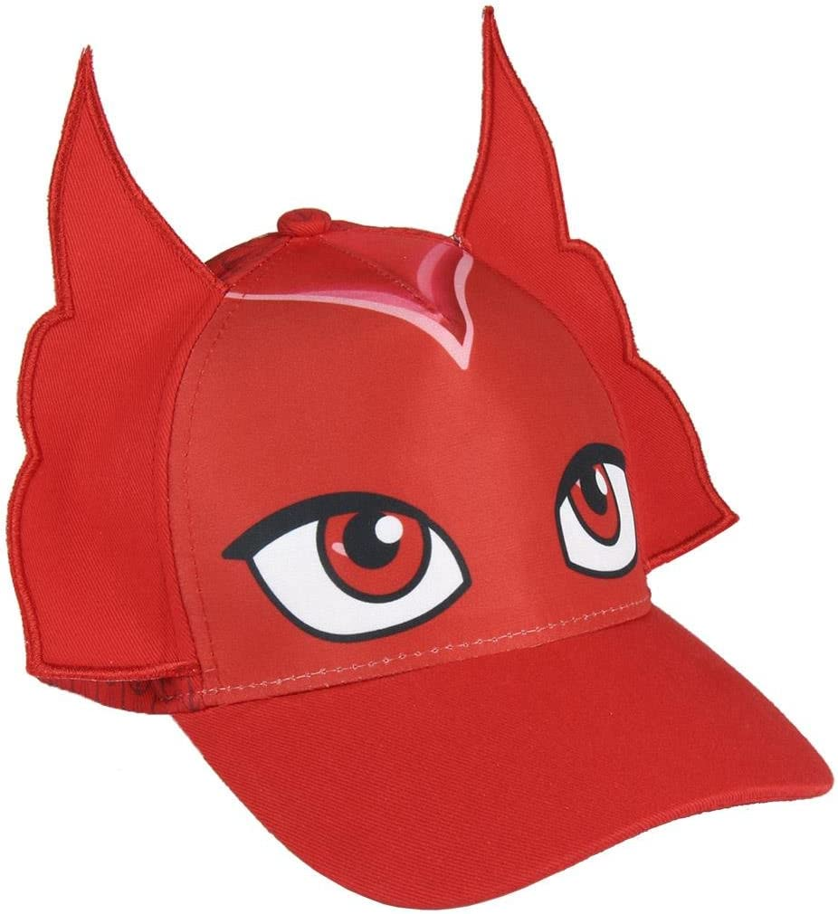 Cerdá- Premium PJ Masks Buhita Gorra de Tenis, Color rojo, 52-58 ...
