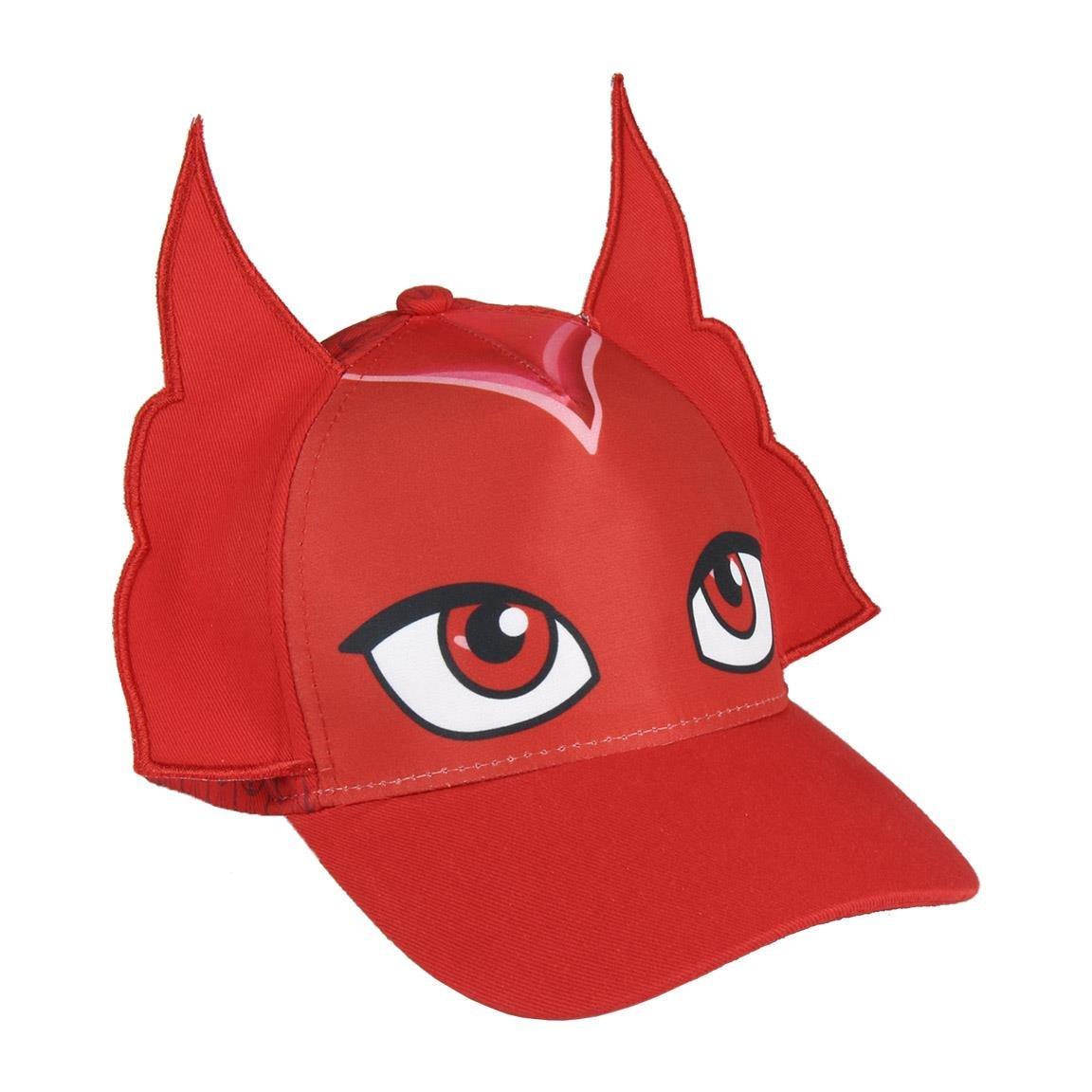 PJ Masks Superpigiamini - Cappello Berretto con Visiera -Bambino Bambina - GattoBoy Geco Gufetta - novità 22-287X