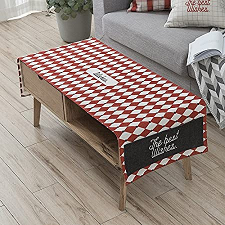 TIANLU Table Table Cloth Universal City Modern And Stylish, Minimalist  Modern Rectangular Living Room Dining
