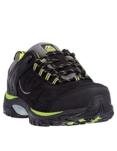 80bd9d39c20 MCRAE Men's Industrial Steel Toe Hiker Work Sneakers, Suede