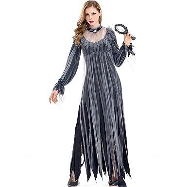 Goyajun Disfraz De Novia Fantasma De Halloween Para Mujer