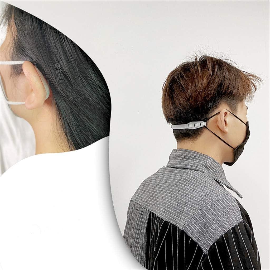 Reduzieren Sie Ohrenschmerzen 10PCS Third Gear Einstellbare Anti-Rutsch-Maske Ohrgriffe Verl/ängerungshaken SomeTeam Masken Haken