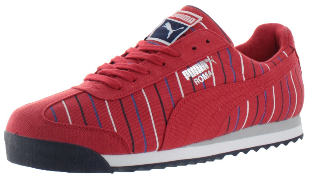PUMA メンズ Roma Tk Graphic B01BLTI9SS 10.5 D(M) US|High Risk Red/Peacoat Blue High Risk Red/Peacoat Blue 10.5 D(M) US