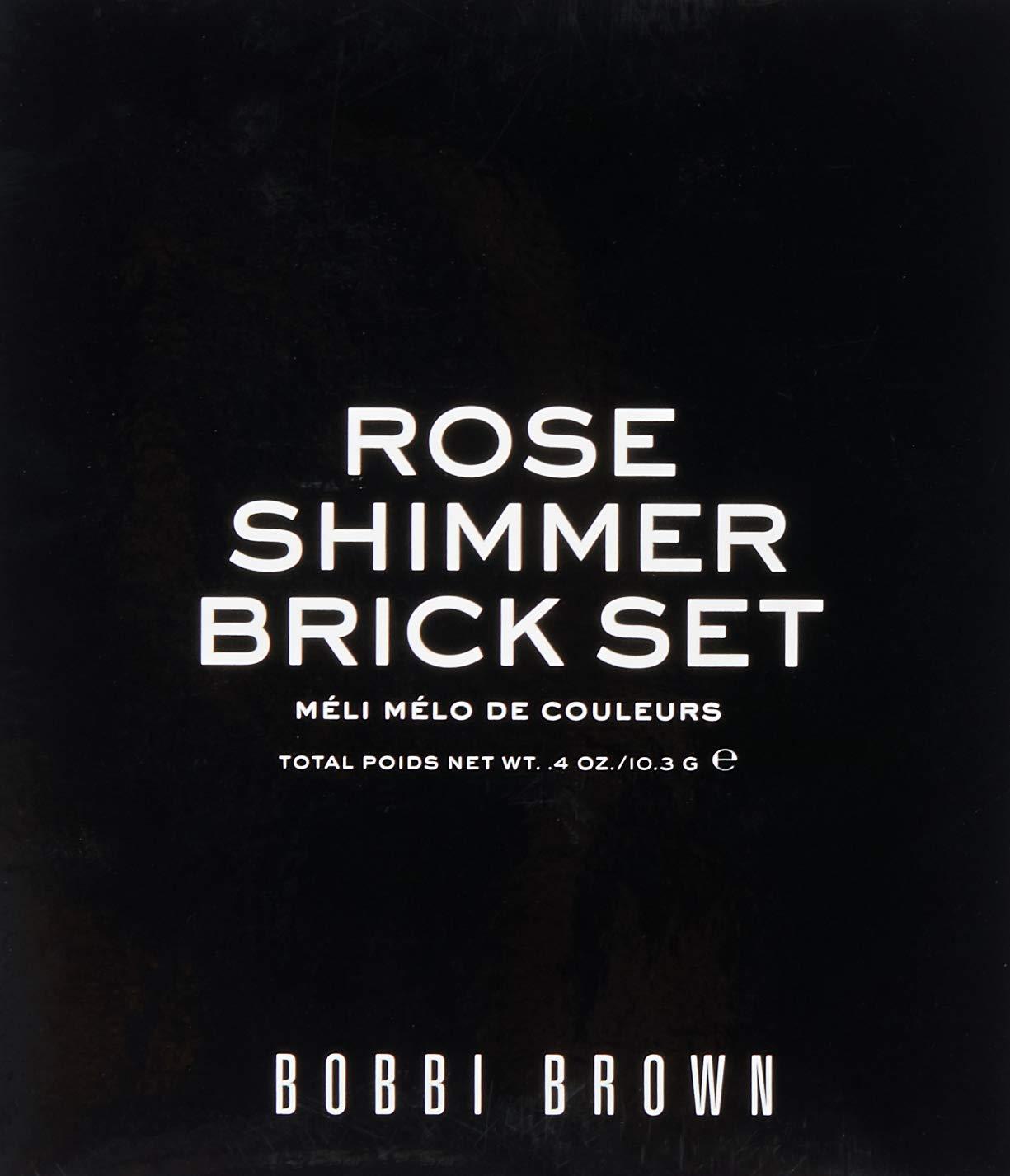 Bobbi Brown Rose Shimmer Brick Set, Limited Edition, 1 Count by Bobbi Brown (Image #2)