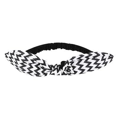 1pcs Headband Baby Girls Fashion Rabbit Ears Elastic Stripe Hairband