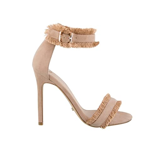 f81168c22ab Tony Bianco Kimi Womens Heels - Two Strap Stiletto Heel with A Suede Upper  and Cotton