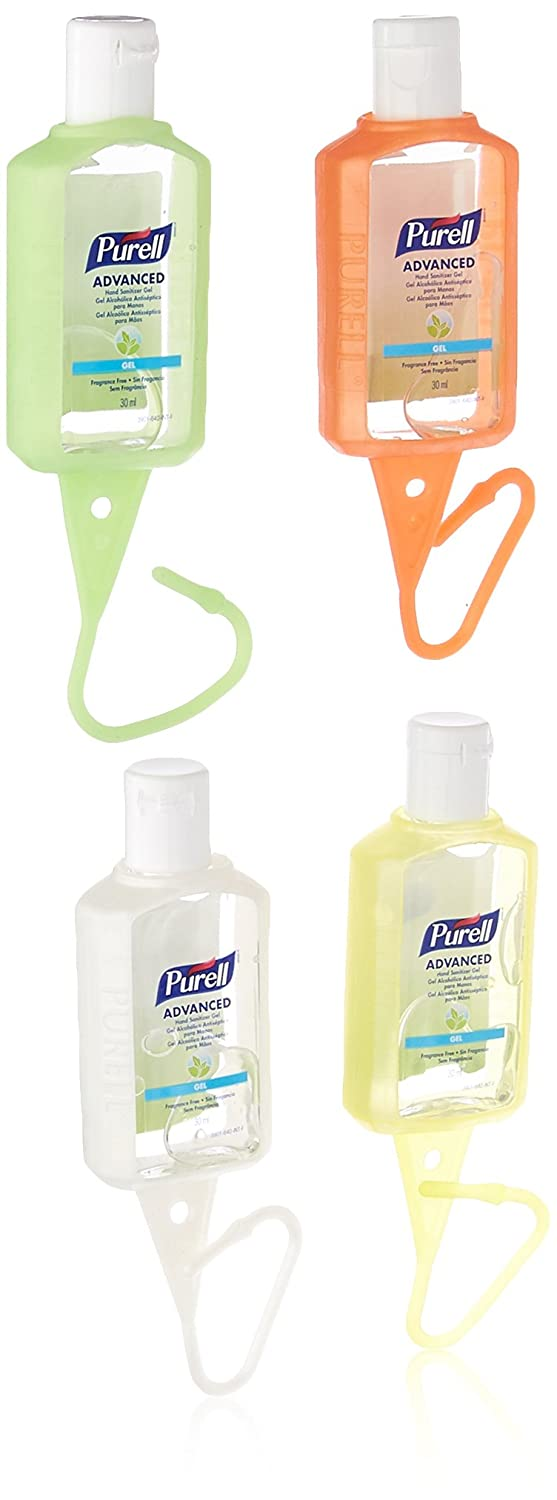 Purell Advanced Instant Hand Sanitizer   4 Travel Sized Jelly Wraps Portable Sanitizer Bottles by Purell