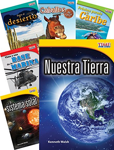 TIME FOR KIDS® Informational Text Grade 2 Spanish 30-Book Set (TIME FOR KIDS® Nonfiction Readers) (Spanish Edition) by Shell Education