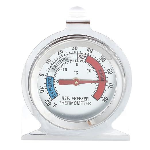 SODIAL(R) Termometro para Refrigerador Congelador Nevera ...