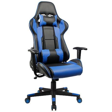 Amazoncom Homall Executive Swivel Leather Gaming Chair Racing