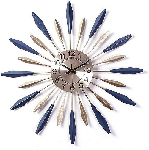 Sunburst Decor Silent Clock