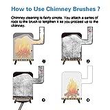 Morinoli 39ft Chimney Cleaning Brush