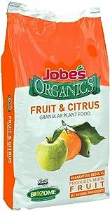 Jobe's Organics 09224 Fruit & Citrus Fertilizer, 16lb, Brown