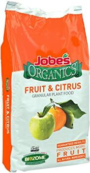 Jobe's Organics 09224 Fruit & Citrus Fertilizer For Fruit Trees