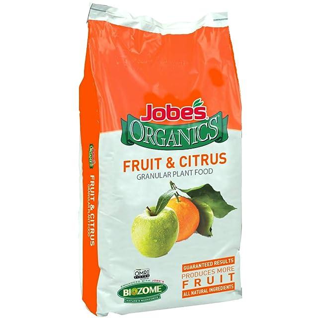 5 Spikes per Clear Bag Jobes Fruit /& Citrus Fertilizer Spikes 8-11-11 Time Release Fertilizer for All Fruit Trees