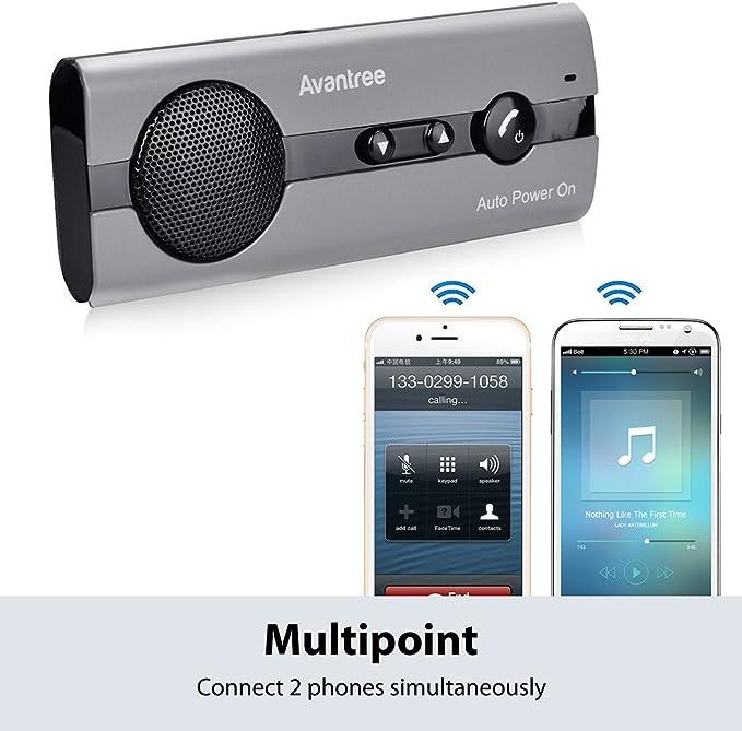 Avantree 10bs Freisprechanlage Für Auto Bluetooth Mit Elektronik