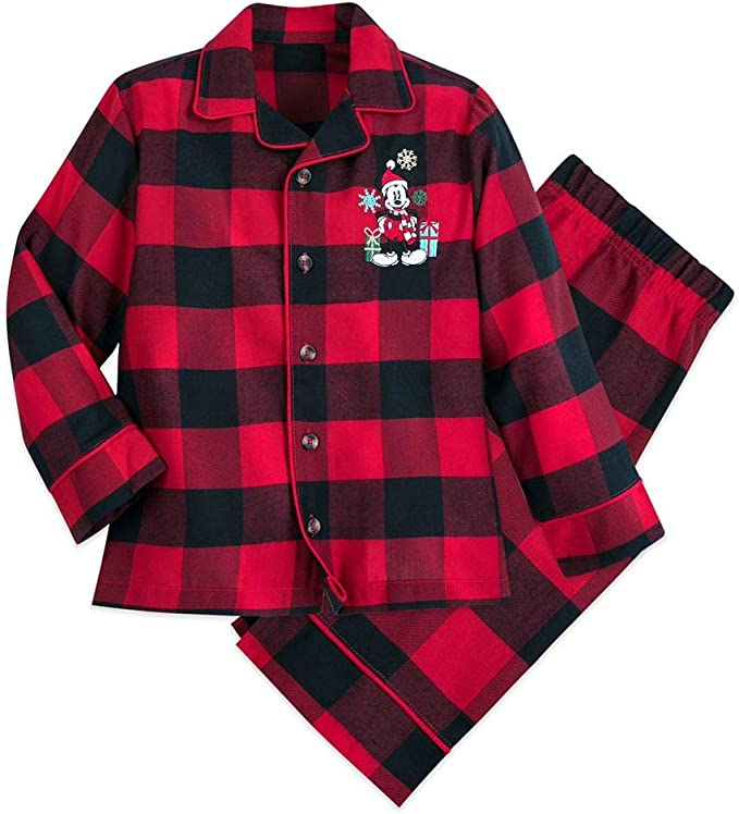 Multi Disney Minnie Mouse Holiday Plaid Nightshirt Girls