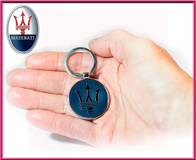 Maserati llavero con Maserati collektion nuevo logo: Amazon ...