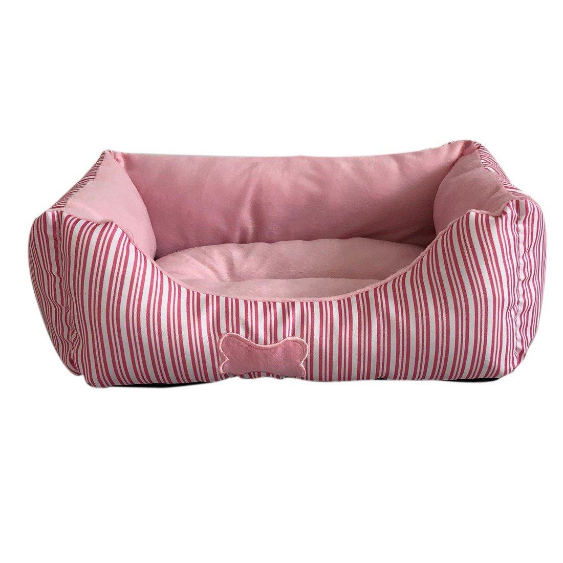Gnaixeh Almohada para Mascotas Lavable con Canasta De Mascotas para Mascotas Almohada De Cama con Forro Polar: Amazon.es: Productos para mascotas