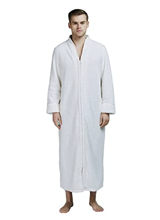 b1581b7767a MAGILONA Women Men's Pregnant Loose Wears Hoodie Soft Velvet Bathrobe  Winter Sleepwear Thicken Nightgown Fleece Home