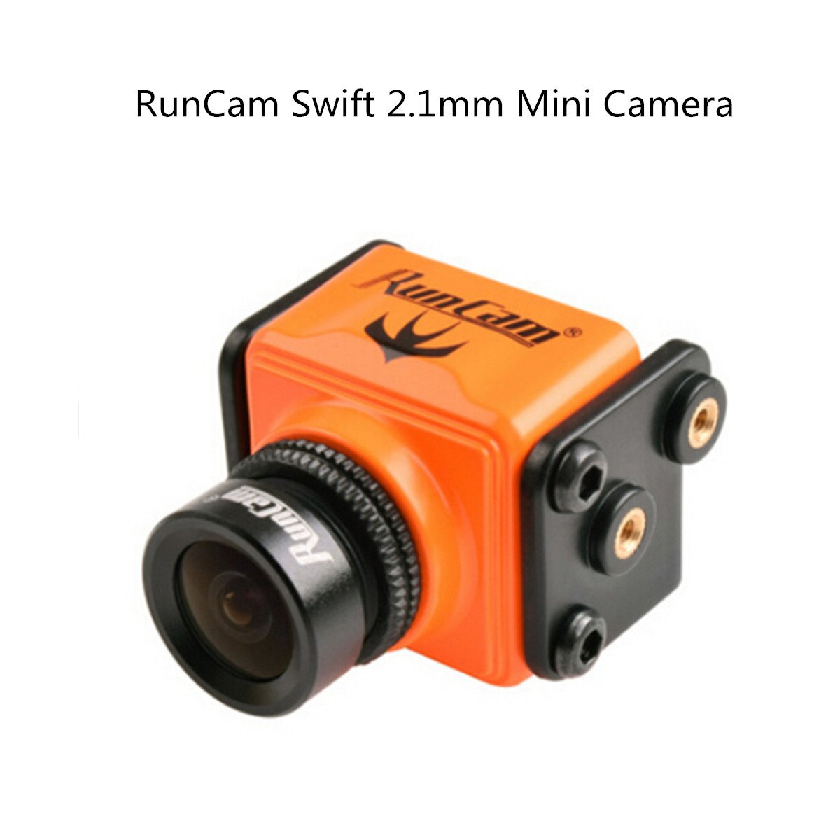 Crazepony RunCam Swift 600tvlミニカメラ2.1 MMレンズ165度DC 5 – 36 V DWDR for Racingクアッドコプター 22mm オレンジ NGI102013S9JF0388 B06XCHDRB6 オレンジ オレンジ