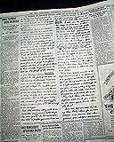 ABRAHAM LINCOLN 1864 Election Address Original
