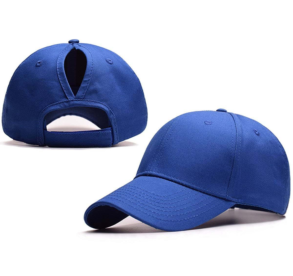 0a4e93e17 JAKY Global Ponytail Baseball Cap Women Messy Bun Adjustable Mesh Trucker  Cotton Hats: Amazon.co.uk: Clothing